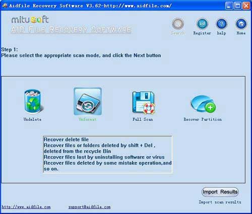 recover deleted photos from formatted drive windows 7